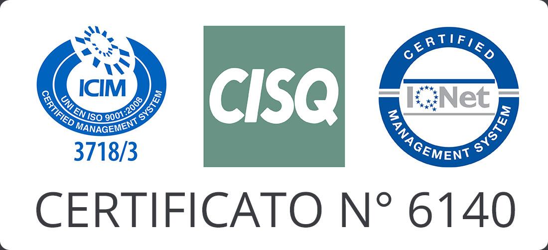 Ricerca e Misure - Azienda certificata